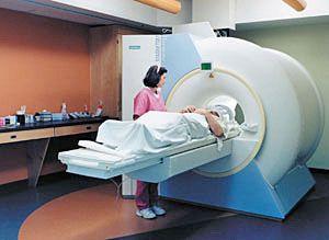 МРТ обследование головного мозга пациенту